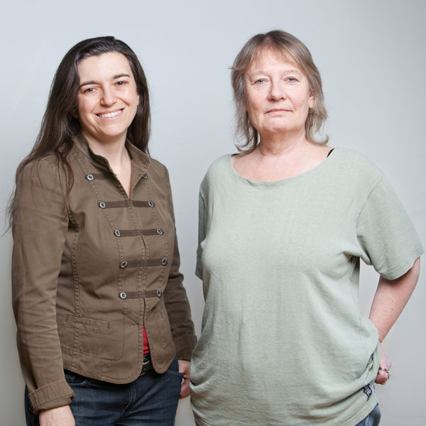 Heidi Taylor and Kathleen Flaherty. Photo by Sarah Race