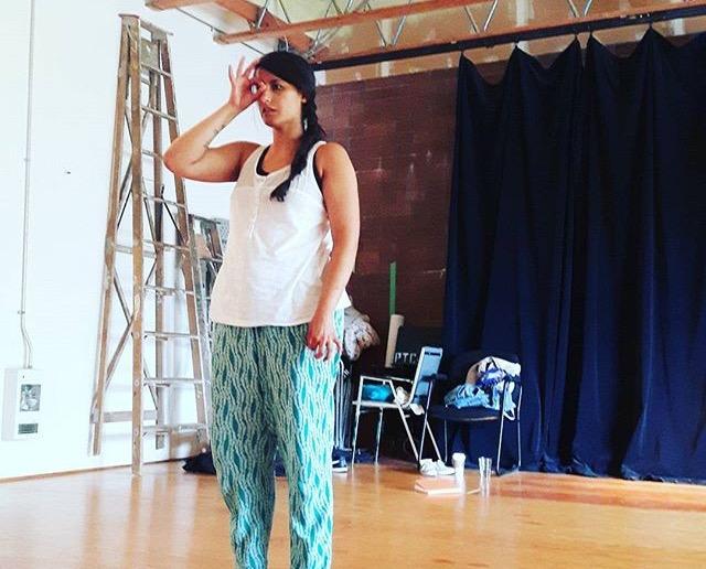 Anoushka Ratnarajah rehearses Setting Bones