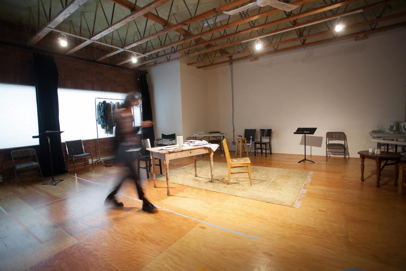 PTC studio. Photo by Sarah Race