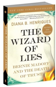 Victim Impact: cover of The Wizard of Lies by Bernie Madoff