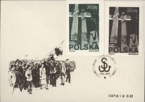 Polish Solidarity Envelope