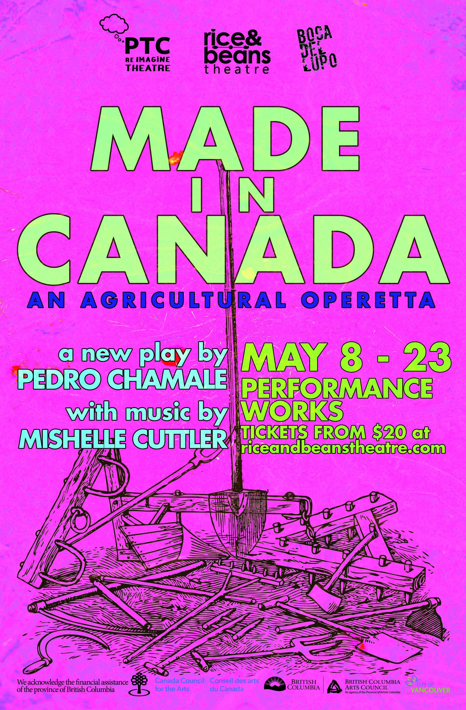 Image of Made in Canada: an agricultural operetta