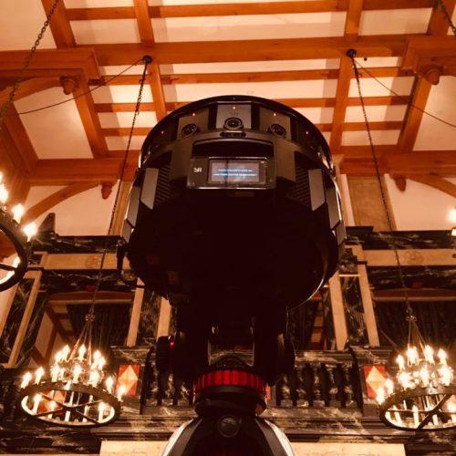 360-degree Camera. Photo by Stephen Wittek.