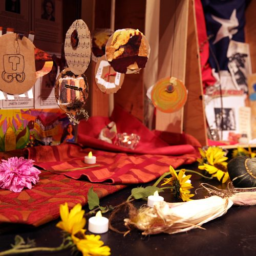 Shrine created at Unscripted: Anywhere But Here