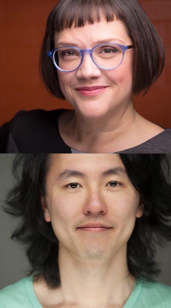 Melanie Yeats and Derek Chan