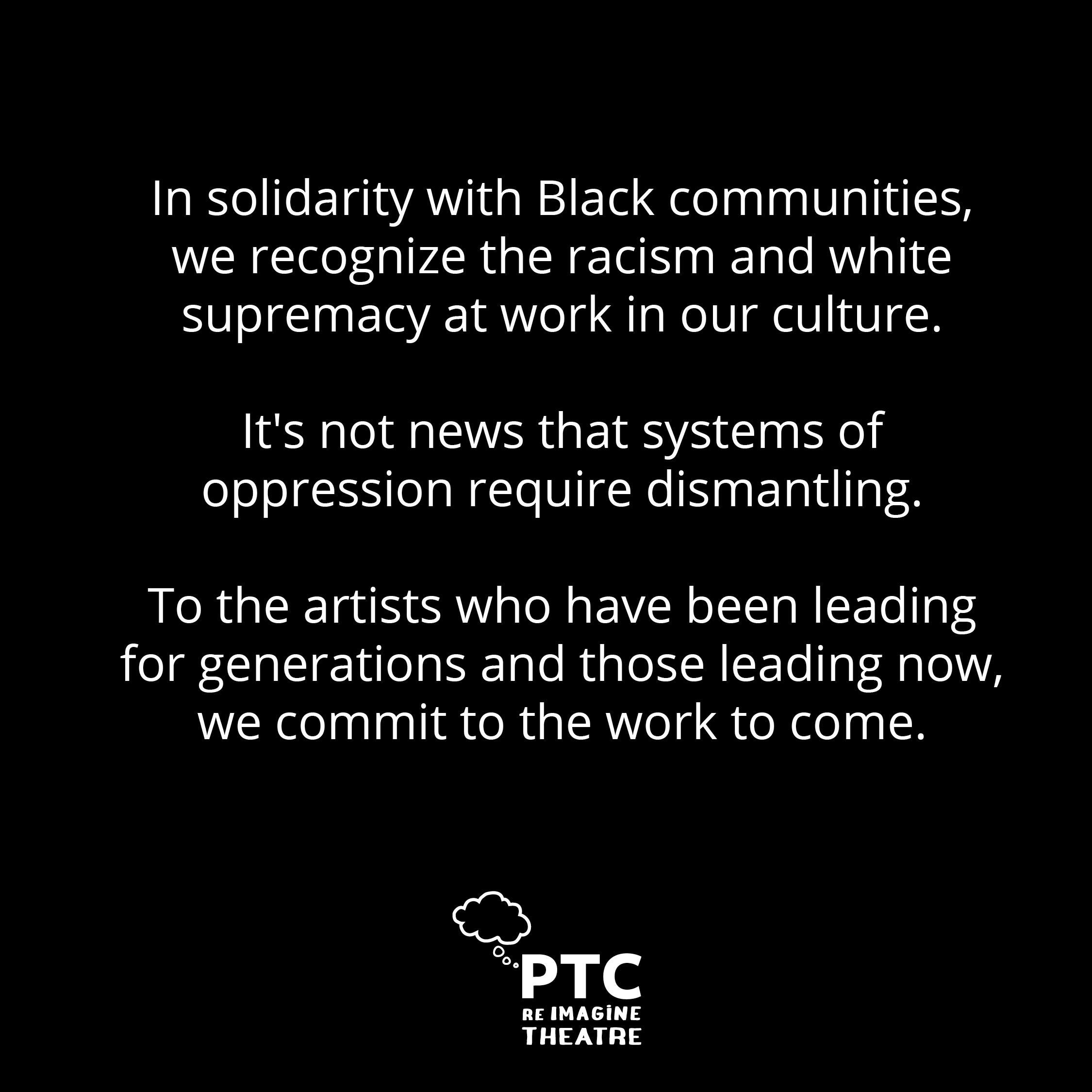 Anti-oppression Statement