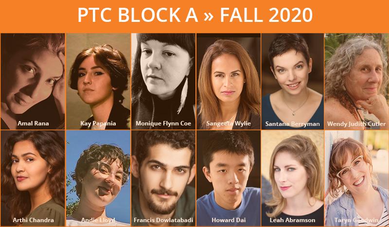 Block A Fall Cohort 2020