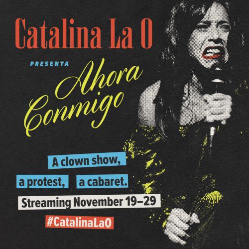 khattieQ singing poster for Catalina La O Presenta: Ahora Conmigo