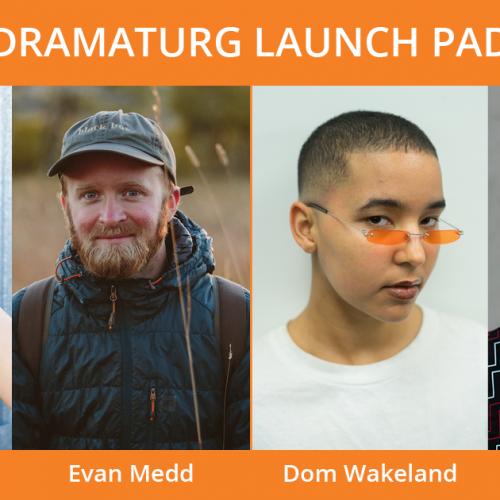 Headshots of Dramaturg Launch Pad cohort