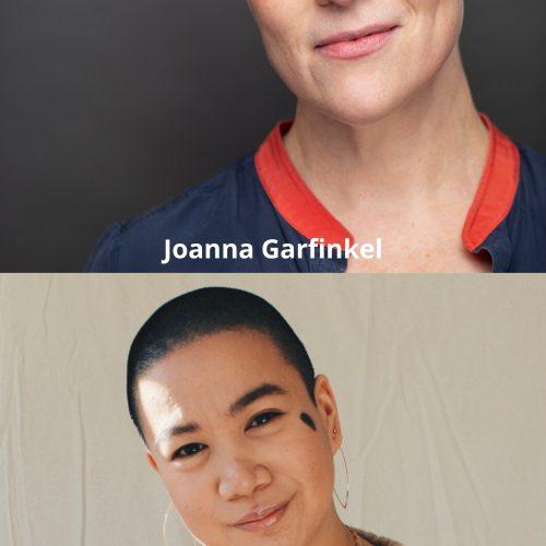Stacked headshots of Joanna and Kamila